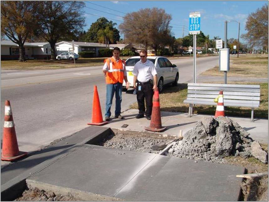 PSTA/ADA Concrete Project